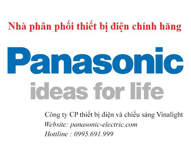 Nhà phân phối thiết bị điện Panasonic chính hãng tại Hà Nội